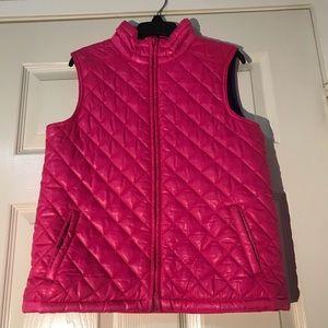 Aeropostale pink vest - kids L